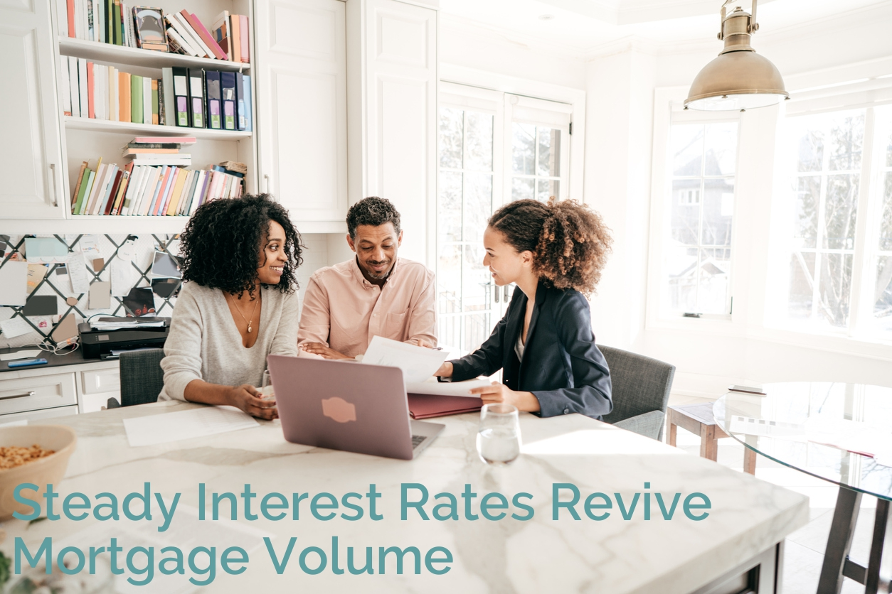 Steady Interest Rates WITH TEXT