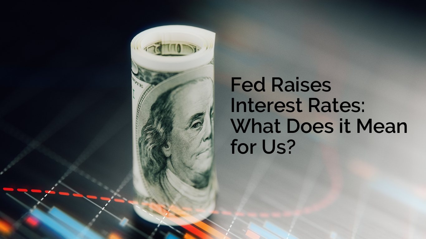 WITH TEXT Fed Raises Interest Rates